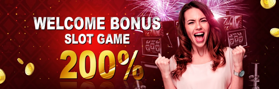 200% Welcome Bonus Slots